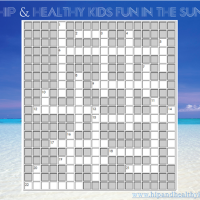 Fun in the Sun – Crossword Puzzle